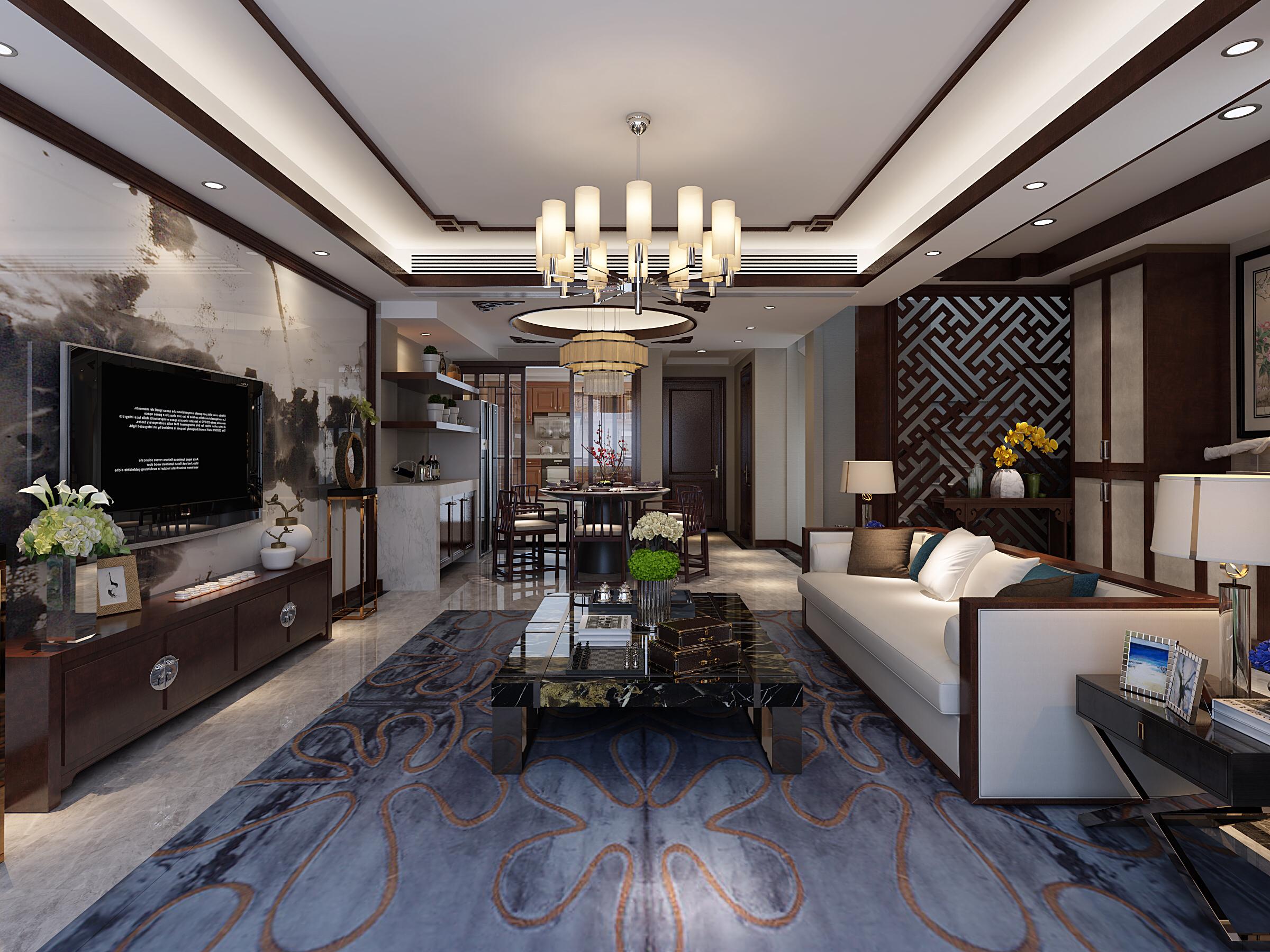 阳光花满墅 上海拉齐娜建筑装饰设计工程有限公司