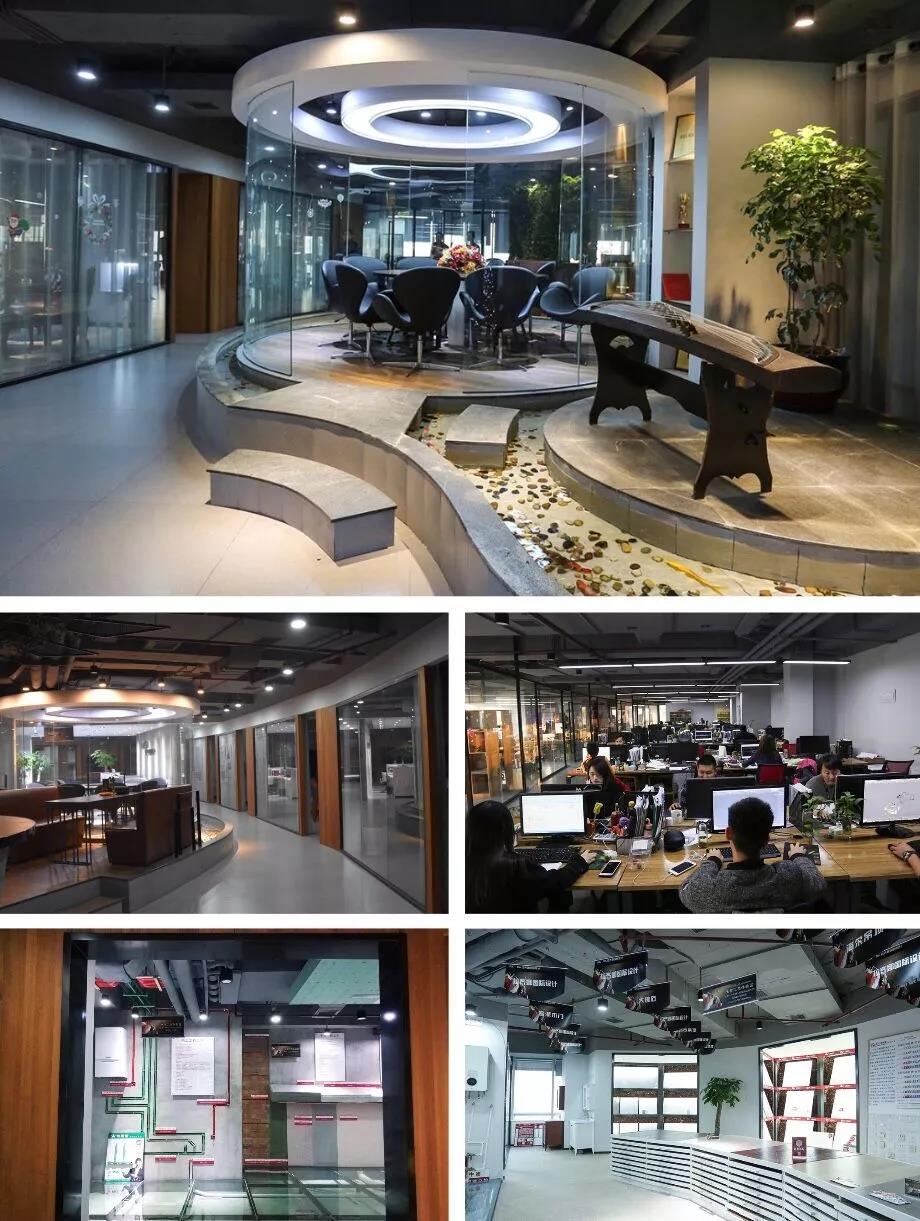 """拉齐娜国际设计在上海发展至今已经有了13年的历程,公司从起初的50发展为2000的5A甲级办公楼,拥有的国内外注册设计师共达103名。公司定位中高端市场,是为客户提供个性化、高品质一站式整装服务的专业化装饰集团!专注于豪宅、别墅、高端公寓、工装、映Studio软装,公司经营理念:让每个中国人都能享受高品质生活,高品质不等于高价格。公司先后十多年来被评为""""全国住宅装饰装修行业知名品牌企业""""、""""家装标准化工程师范单位""""、""""互联网家装市场占有率领军品牌"""